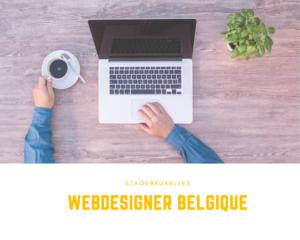 stage webdesigner belgique