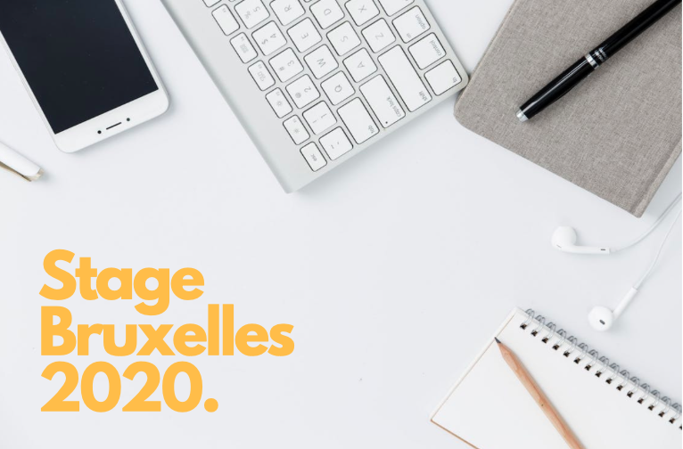 stage Bruxelles 2020