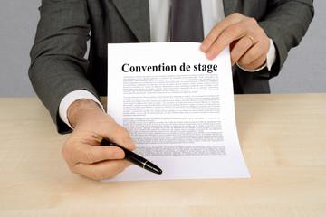 contrat de stage rémunéré