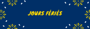 Jours fériés 2019 Belgique